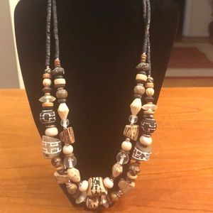 Jewelry - Natural-Look Multi-Strand Necklace